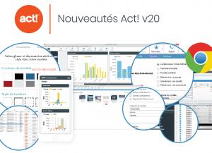 nouvelle version logiciel crm act v20