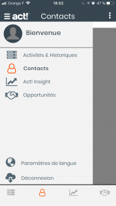 Act Companion application mobile Act